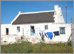 Arniston fishermen's cottage, Overberg